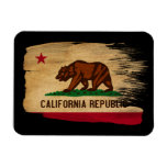 California Flag Rectangle Magnets