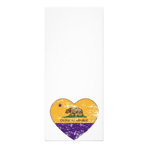 california flag republic purple heart distressed custom invites