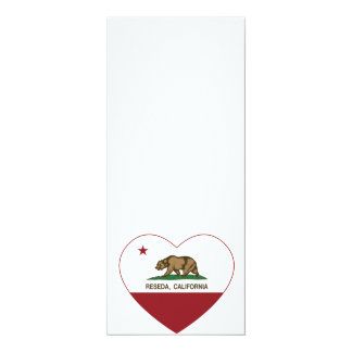 california flag reseda heart card