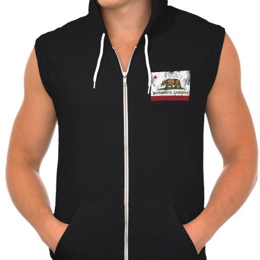 california flag sacramento hoodie