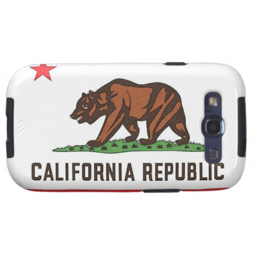 CALIFORNIA FLAG Samsung Galaxy S 3 Case