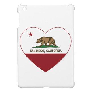 california flag san diego heart case for the iPad mini