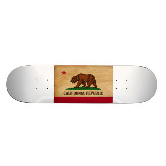 California Flag Skateboard Deck