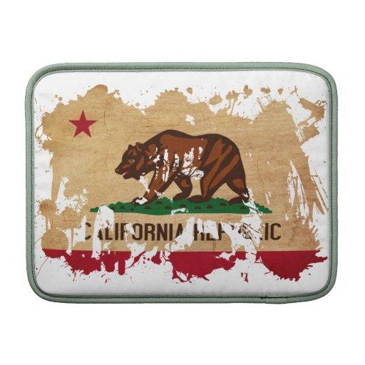California Flag Sleeve For MacBook Air