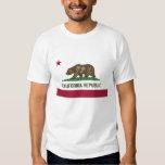 California Flag T Shirt