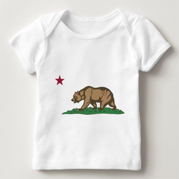 California Flag Theme 01 Baby T-Shirt