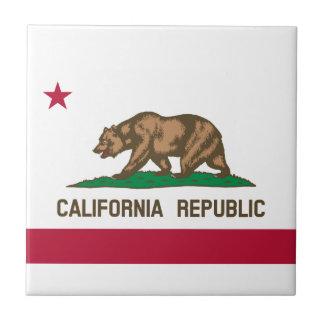 California Flag Tile