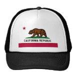 California Flag Trucker Hat
