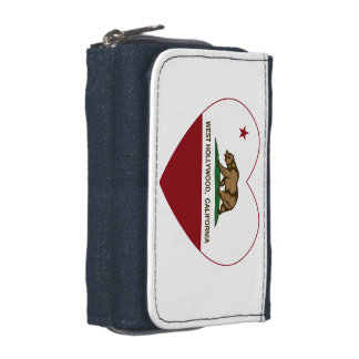 california flag west hollywood heart wallets
