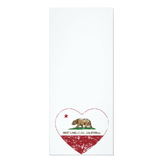 california flag west lancaster heart distressed announcement