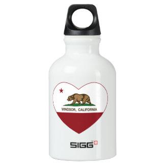 california flag windsor heart SIGG traveler 0.3L water bottle