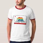 California Flag with Rainbow Bear Shirt
