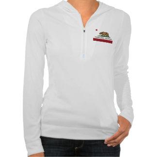 California Flag Yorba Linda Hooded Sweatshirts