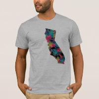 California Floral T-shirt