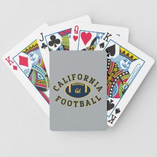 California Football   Cal Berkeley 5 Bicycle Playing Cards