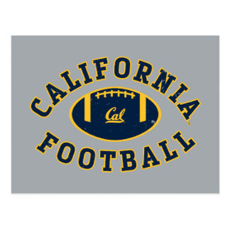 California Football | Cal Berkeley 5 Postcard