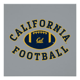 California Football | Cal Berkeley 5 Poster