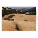 California foothills greeting card