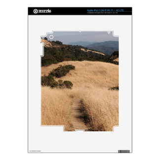 California foothills trail iPad 3 skin