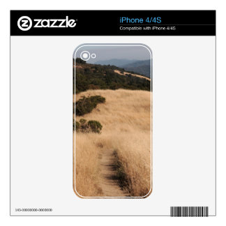 California foothills trail iPhone 4/4S skin