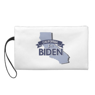 CALIFORNIA FOR BIDEN -.png Wristlet Clutches