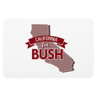 CALIFORNIA FOR BUSH -.png Rectangular Photo Magnet