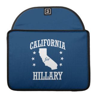 CALIFORNIA FOR HILLARY MacBook PRO SLEEVE