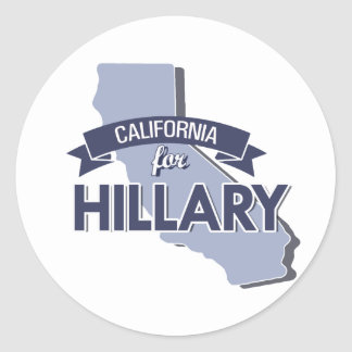 CALIFORNIA FOR HILLARY - png Sticker
