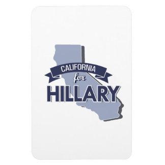 CALIFORNIA FOR HILLARY MAGNET