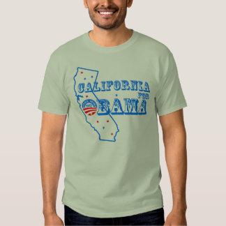 California For Obama 2012 T-shirt