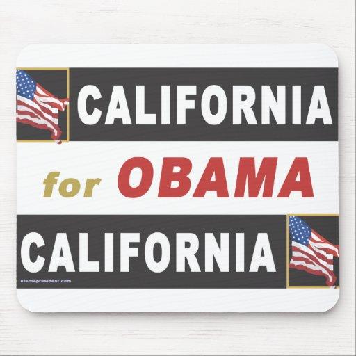 California for Obama Mouse Pad