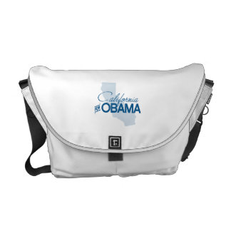 CALIFORNIA FOR OBAMA.png Courier Bag
