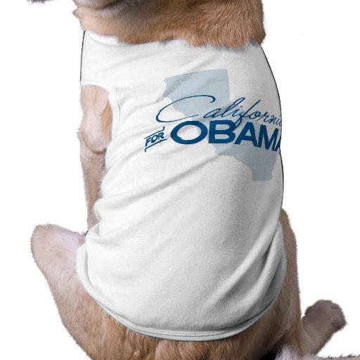 CALIFORNIA FOR OBAMA.png Pet Shirt