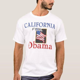 California for Obama T-shirt