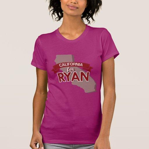 CALIFORNIA FOR RYAN -.png Tee Shirts