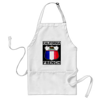 California French American Adult Apron