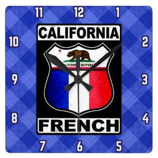 California French American Clock