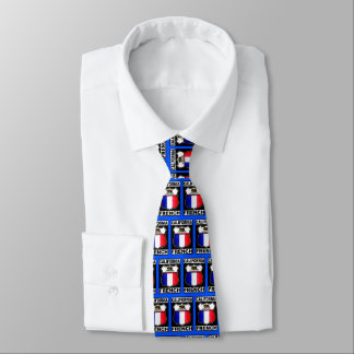 California French American Tie