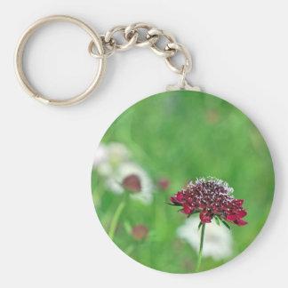 California Garden Basic Round Button Keychain
