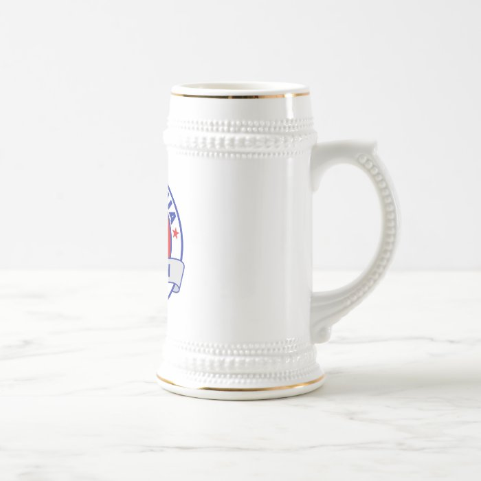 California Gary Johnson Beer Stein