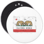California Gay Marriage Flag Buttons