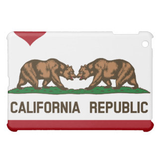 CALIFORNIA GAY MARRIAGE FLAG SQUARE -.png iPad Mini Covers