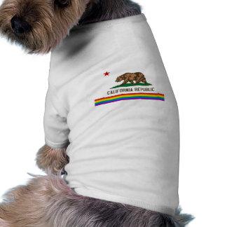 California Gay Pride Flag T-Shirt