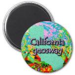 California Geocaching Supplies Magnet Geoswag