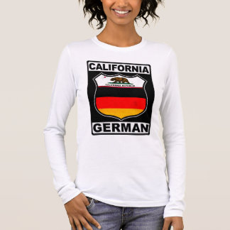 California German American Long Sleeve T-Shirt
