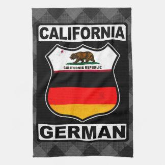 California German American Towel