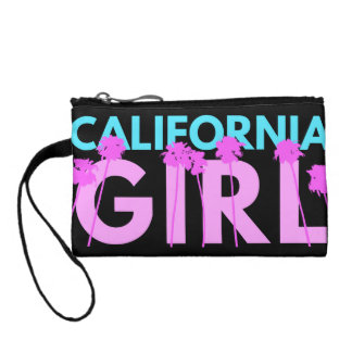 California Girl Change Purse