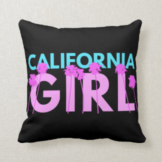 California Girl Pillow