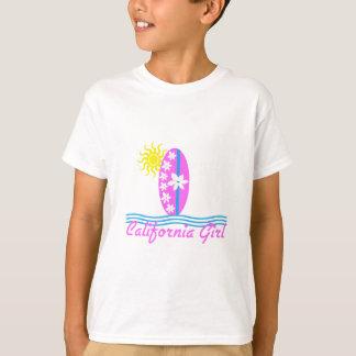 California Girl Pink Surfboard W/Sun T-Shirt