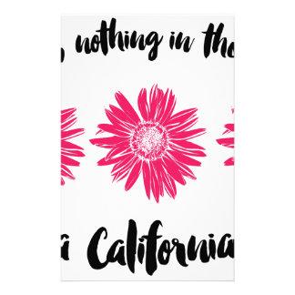 California girl stationery
